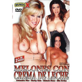 Melones Con Crema De Leche